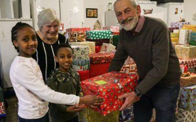 Oelder Tisch sammelt Weihnachtspakete für bedürftige Menschen